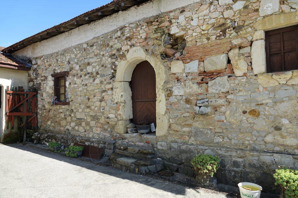 La maison mère de Ponchon datée de 1670