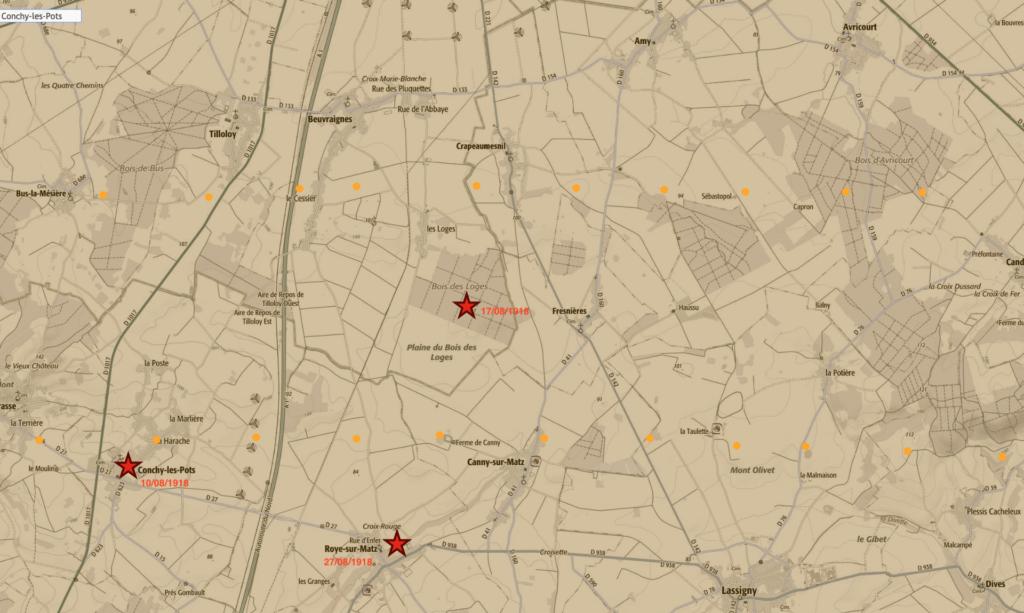 La bataille du Bois des Loges(Oise)